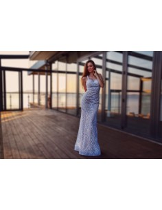 Vyšívané šaty luxury