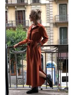 Košeľové šaty wind
